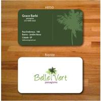 Belle Vert, Logo e Identidade, Paisagismo & Piscina