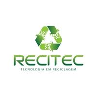 """RECITEC """"Tecnologia em Reciclagem"""", Logo e Identidade, Consultoria de Negócios"""
