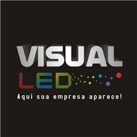 visual led, Logo e Identidade, publicidade em painel de led