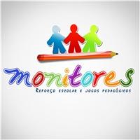 Monitores, Logo e Identidade, Reforço Escolar e Jogos Pedagógicos