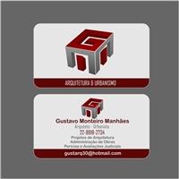 GUSTAVO MONTEIRO MANHAES, Logo e Identidade, Arquitetura