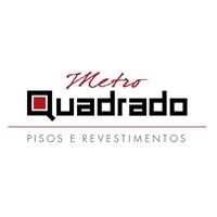 METRO QUADRADO PISOS, REVESTIMENTOS, Logo e Identidade, BOUTIQUE DE PISOS E REVESTIMENTOS