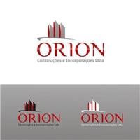 ORION Construçoes e Incorporaçoes Ltda, Logo e Identidade, Construção & Engenharia