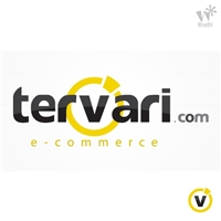 Tervari Comércio Eletrônico LTDA, Logo e Identidade, e-commerce diversificado: eletrônicos, informática, acessórios como relógios, bolsas, etc...