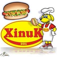 Cachorro Mascote da Xinuk, Construçao de Marca, Venda de cachorro-quente (normal de lanchonete e linha festa - cachorrinho)