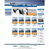 GLOBALEAD, Web e Digital, LOJA VIRTUAL DE CURSOS ON LINE E  PRESENCIAL