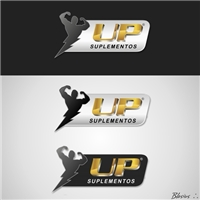 UP Suplementos, Logo e Identidade, Suplementos Alimentares, Suplementaçao Esportiva