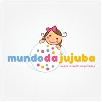 Mundo da Jujuba, Logo e Identidade, loja virtual de roupas infantis importadas