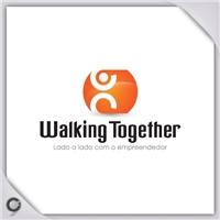 Walking Together, Logo e Identidade, Lado a lado com o empreendedor.