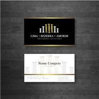 Lima, Bezerra e Amorim Advogados Associados, Logo e Identidade, Advocacia e Direito