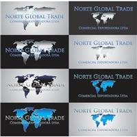 Norte Global Trade Comercial Exportadora Ltda, Logo e Identidade, Exportaçao e importaçao de produtos alimentícios em geral
