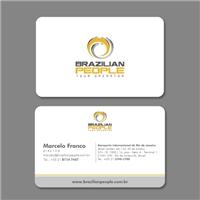 Brazilian People Tour Operator, Logo e Identidade, Viagens & Lazer