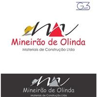 Mineirao de Olinda Materiais de Construçao Ltda, Logo e Identidade, Revenda de Materais de Construçao e afins