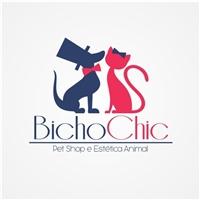 Bicho Chic, Logo e Identidade, Pet Shop e Estética Animal