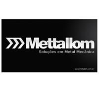 Mettallom - Soluçoes em Metal Mecânica., Logo e Identidade, Metal & Energia