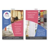 Pink Interiores, Peças Gráficas e Publicidade, Decoração & Mobília