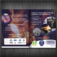 Gramola Fundiçao Ltda, Peças Gráficas e Publicidade, Metal & Energia