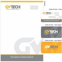 GVTECH SOLUÇOES EM TECNOLOGIA DA INFORMAÇAO LTDA., Logo e Identidade, Computador & Internet