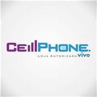 Cell Phone Loja Autorizada Vivo, Logo e Identidade, Loja Autorizada da Operadora Vivo