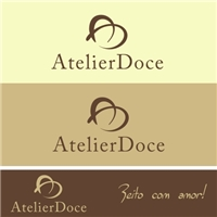Atelier Doce, Logo e Identidade, Alimentos & Bebidas
