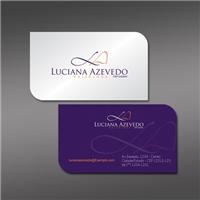 Luciana Azevedo Psicóloga, Logo e Identidade, Consultoria de Negócios