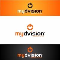 Logo mydvision, Logo e Identidade, Computador & Internet