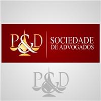 P & D Sociedade de Advogados, Logo e Identidade, Advocacia e Direito