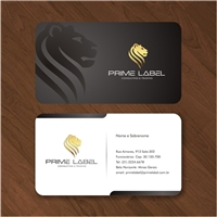 PRIME LABEL - CONSULTING & TRADING, Logo e Identidade, Consultoria de Negócios