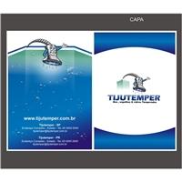 Folder para Tijutemper, Peças Gráficas e Publicidade, Decoração & Mobília