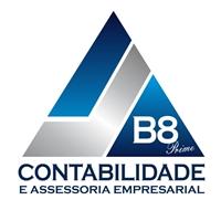 B8 PRIME CONTABILIDADE E ASSESSORIA EMPRESARIAL, Logo e Identidade, Contabilidade & Finanças