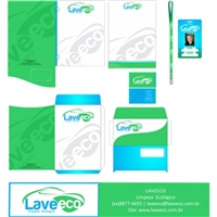 LAVEECO, Logo e Identidade, Automotivo
