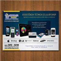 Assistência Técnica Celular Shop, Peças Gráficas e Publicidade, Limpeza & Serviço para o lar