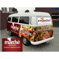 Marché Alimentaçao, Peças Gráficas e Publicidade, Alimentos & Bebidas