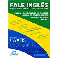 Prosa Idiomas - flyer para divulgaçao do lançamento de curso de inglês, Peças Gráficas e Publicidade, Educação & Cursos