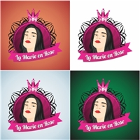 Loja virtual- La Marie en rose, Construçao de Marca, Computador & Internet