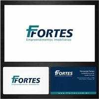 FFORTES Empreendimentos Imobiliarios, Logo e Identidade, Construção & Engenharia