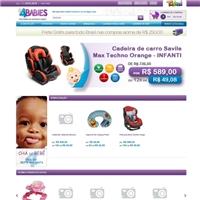 Arte de Banner em PSD ( nao em flash)  para empresa 4BABiES, Marketing Digital, Computador & Internet