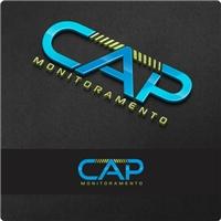 CAP MONITORAMENTO, Logo e Identidade, Segurança & Vigilância