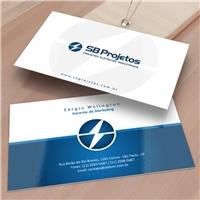 SB Projetos, Logo e Identidade, Consultoria de Negócios