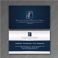 Dr. José Carlos Scholles Neto - OAB/RS 88.481, Logo e Identidade,