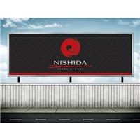 NISHIDA SUSHI LOUNGE, Logo e Identidade, Alimentos & Bebidas