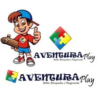 Mascote AventuraPlay Brinquedos, Construçao de Marca, Computador & Internet