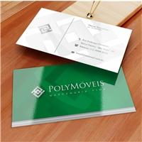 PolyMóveis, Logo e Identidade, Decoração & Mobília