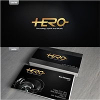 Dj Hero - Tecnology, Spirit and Music, Logo e Identidade, Música