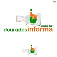 douradosinforma.com.br, Logo e Identidade, Marketing & Comunicação