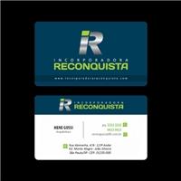 INCORPORADORA RECONQUISTA LTDA, Logo e Identidade, Construção & Engenharia
