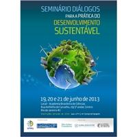Seminário Diálogos para a Prática do Desenvolvimento Sustentável, Peças Gráficas e Publicidade, Educação & Cursos