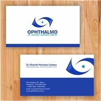 Ophthalmo, Logo e Identidade, Saúde & Nutrição