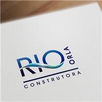 Rio Orla Construtora Ltda, Logo e Identidade, Construção & Engenharia