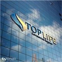 TOP LIFE CORRETORA DE SEGUROS, Logo e Identidade, Contabilidade & Finanças